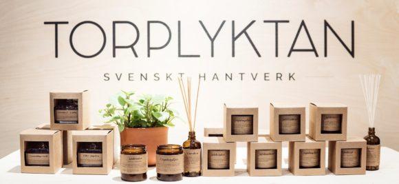 TORPLYKTAN(トープリュクタン)ストックホルムでハンドメイド、高品質なルームフレグランスのブランド